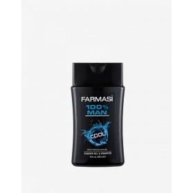 Shampoing & Gel Douche 100% Man