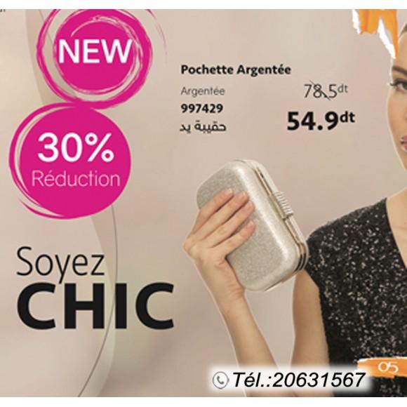 Pochette Argentée