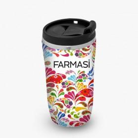 FARMASI Mug Isotherme Mixed Color 14cm