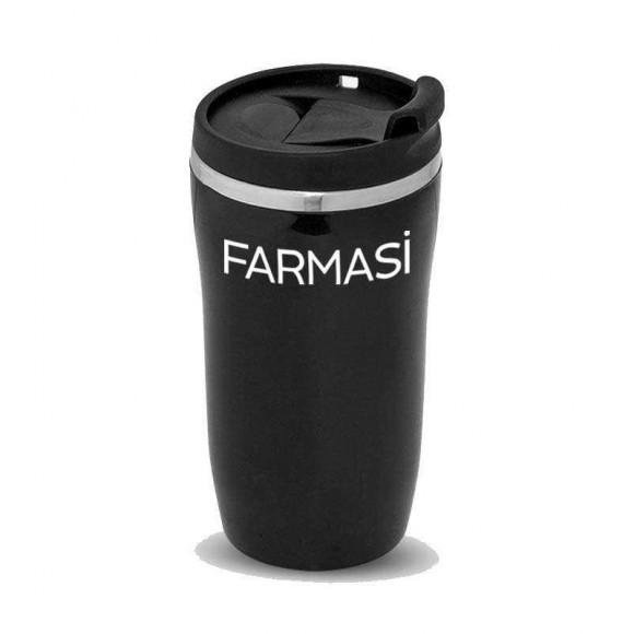 Farmasi Tunisie - Mug Isotherme Noir 14cm - 9700647