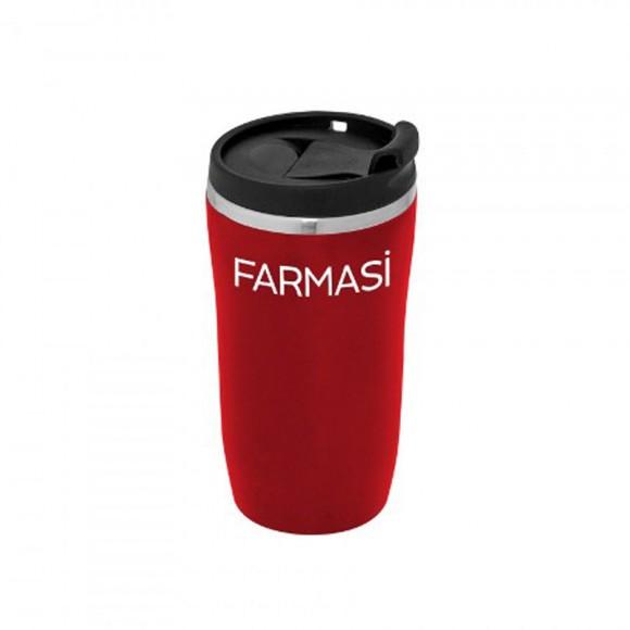 Farmasi Tunisie - Mug Farmasi Isotherme Rouge 14cm - 9700646