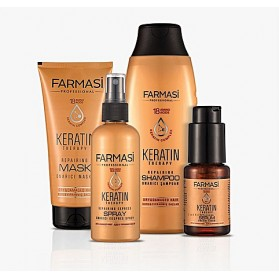Farmasi Tunisie Pack soins cheveux Keratine Therapy Reference 3232125