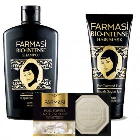 Farmasi Tunisie - Pack Farmasi Bio Intense Shampoing & Masque & Savon Référence 1108152 - 1108153 - 1119036