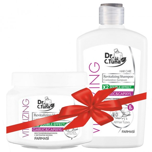 Farmasi Tunisie - Pack Farmasi Vitalizing Shampoing & Masque