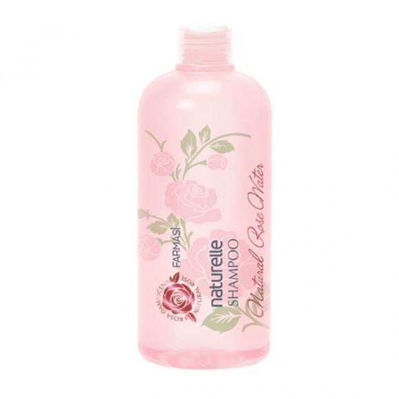 Farmasi Tunisie - 1108118 - Shampoing Farmasi Naturelle Eau de Rose 375ml