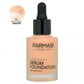 Farmasi Tunsie Sérum Font de Teint Farmasi Luminous Serum Warm Beige Référence 1302703