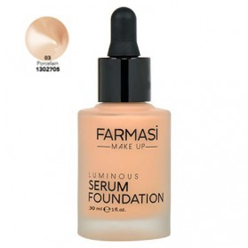 Farmasi Tunsie Sérum Font de Teint Farmasi Luminous Serum Porcelain Référence 1302705
