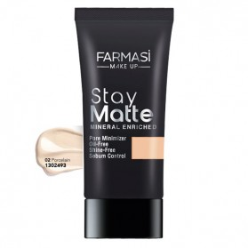 Stay Matte Farmasi 02 Porcelain