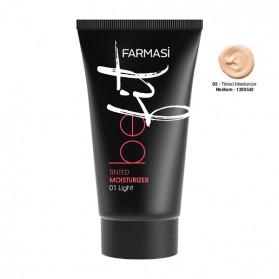 Farmasi Tunisie Crème Hydratante Teintée Farmasi  Be Fit Medium 02 Référence 1302542