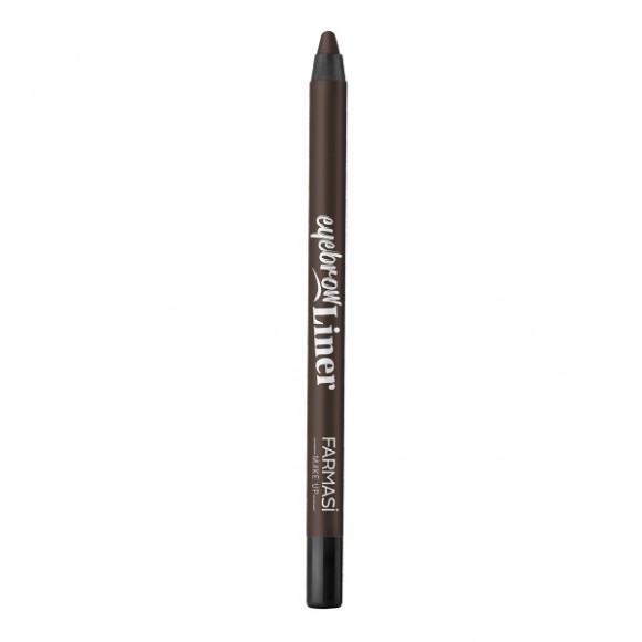Farmasi Tunisie Crayon à Sourcils Farmasi EyeBrow Liner Dark Brown Référence 9700762