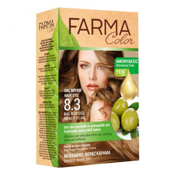 Farmasi Tunisie Teinture cheveux Farmasi Farma Color 8.3 Miel Référence 7090238