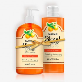 Farmasi Tunisie Pack Farmasi Gel Douche & Savon Liquide Orange Référence 1119144