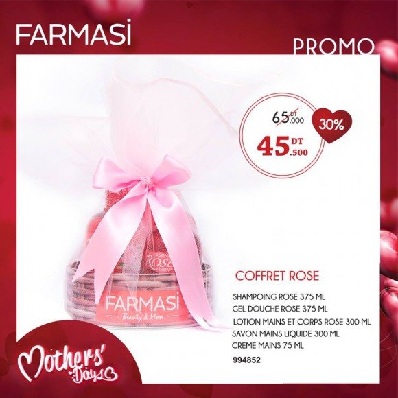 Coffret Rose Farmasi