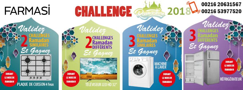 Cumules Challenge Farmasi Tunisie Algérie Libye Ramadan 2018