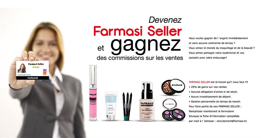 Gagnez de l'argent avec Farmasi Tunisie