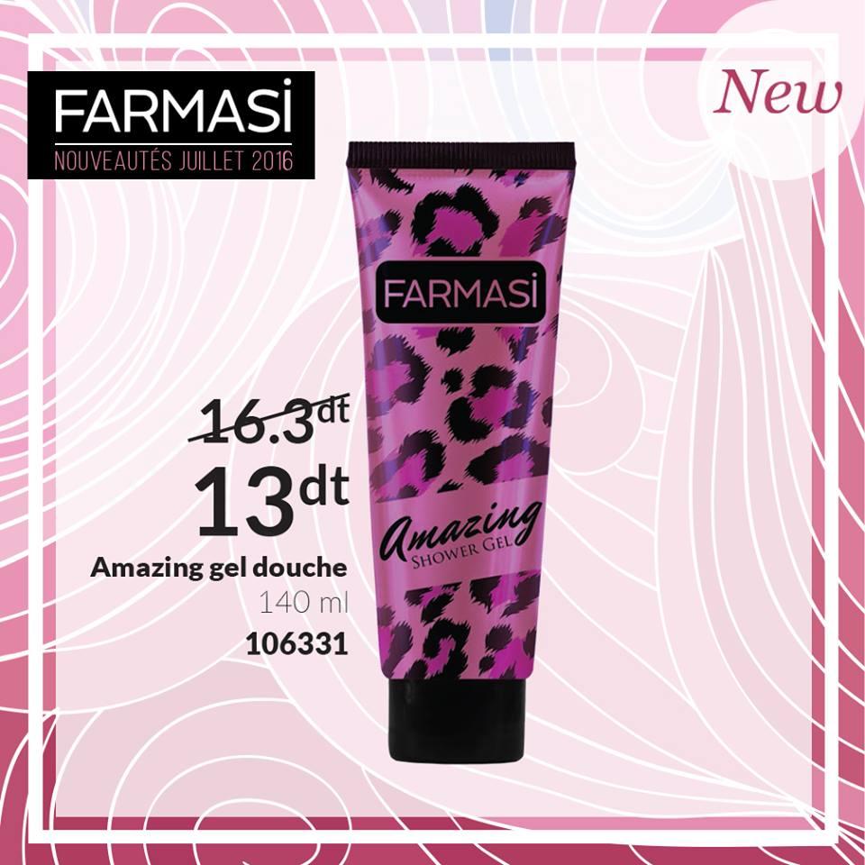 Nouveaux Produits Farmasi juillet 2016