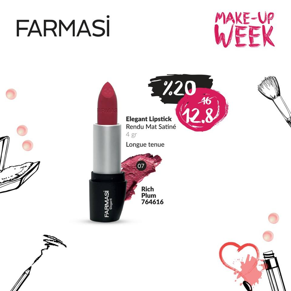 Promotions Farmasi Make Up Week Octobre 2016