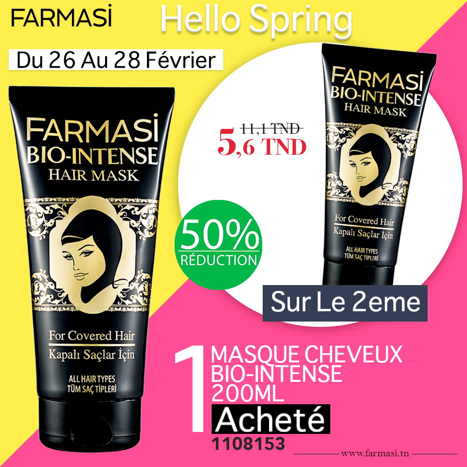Promotions Farmasi Tunisie Hello Spring Février 2019