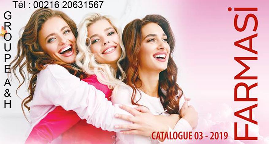 Nouveau Catalogue Farmasi Tunisie 03/2019 By FARMASI A&H