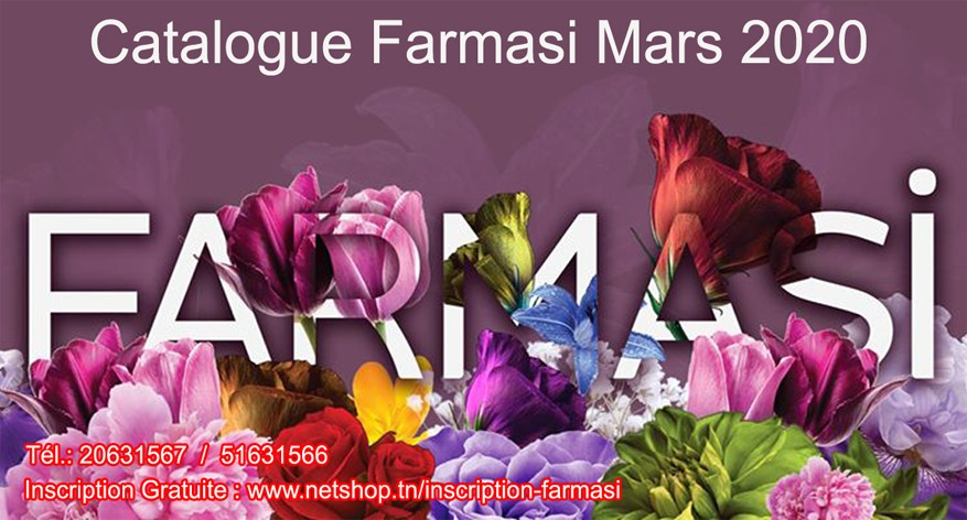 Nouveau Catalogue Farmasi Tunisie Novembre 11/2019