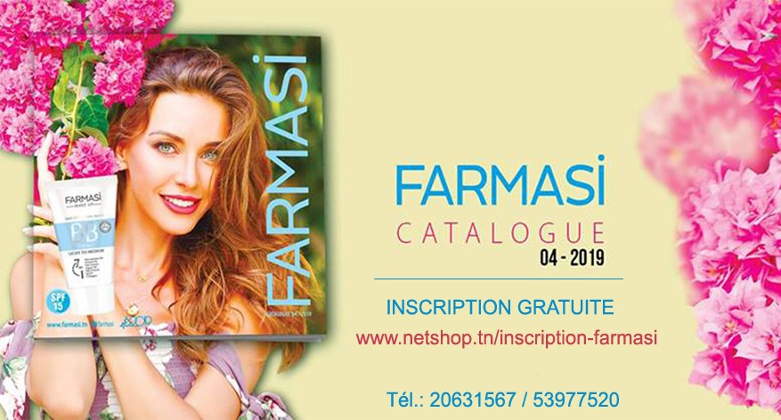 Nouveau Catalogue Farmasi Tunisie 04/2019 By FARMASI A&H